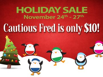 Cautious Fred – Thanksgiving Holiday Sale